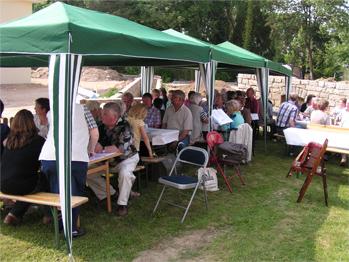 Terrassenfest des Heimatvereins in Lauenau