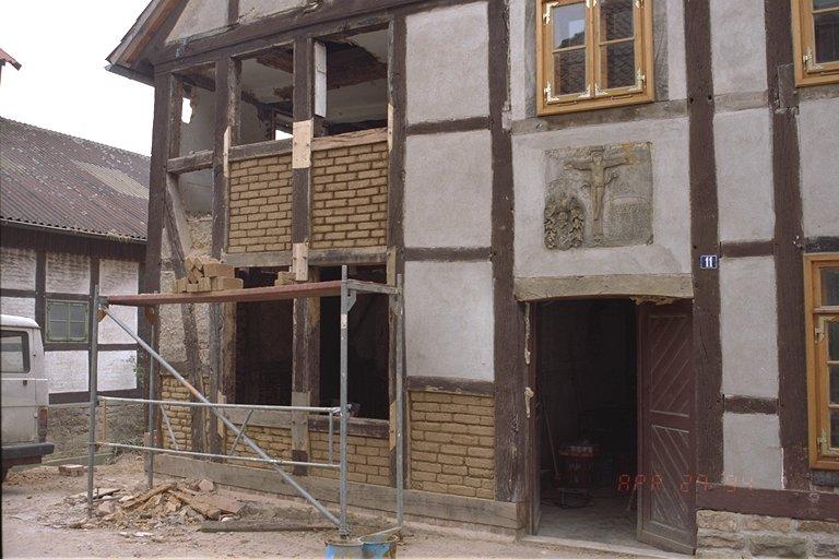 Sanierungsarbeiten am Fleckenmuseum